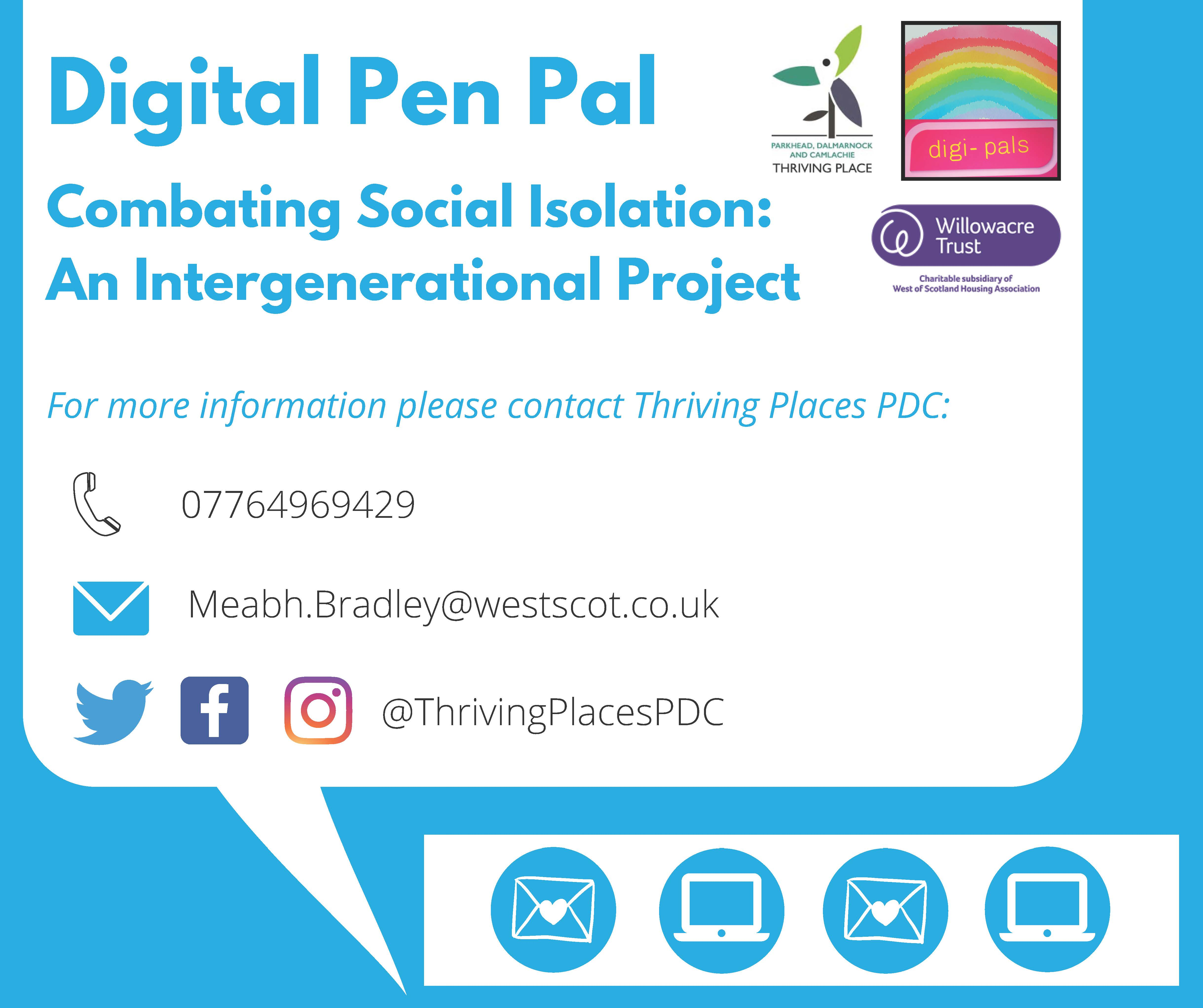 Digital Pen Pals Project information